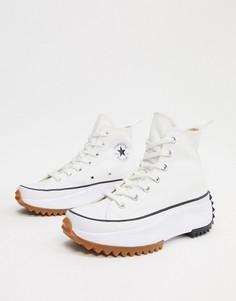 Белые походные кеды Converse Run Star-Белый