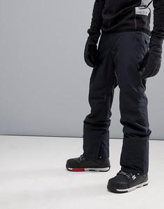 Черные горнолыжные брюки Quiksilver-Черный