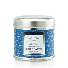 Свеча ароматическая в алюминиевой банке Ассамский чай и белый кедр Wax Lyrical