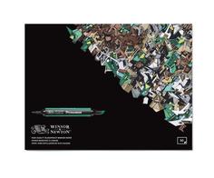 """Альбом для маркеров """"Bleedproof Marker"""", 28x35 см, 50 листов Winsor&Newton"""