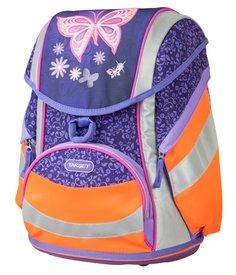 Ранец Золотая бабочка фиолетовый с оранжевым 17983 Target