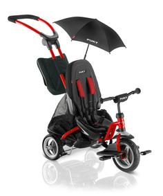 Велосипед трехколесный Puky CAT S6 Ceety 2018 красный, черный