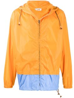 Marni легкая куртка в стиле колор-блок