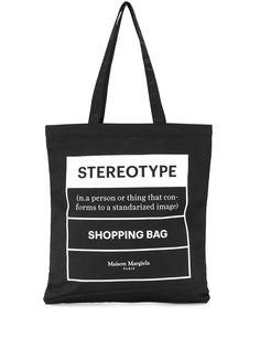 Maison Margiela сумка-тоут Stereotype