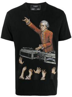 DOMREBEL футболка с принтом DJ