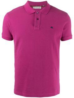 Etro рубашка-поло с короткими рукавами
