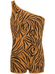 Lazoschmidl комбинезон Bob с тигровым принтом