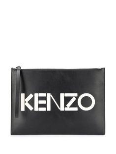Kenzo клатч A4 в стиле колор-блок