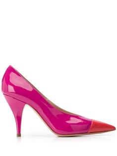 Casadei туфли-лодочки Delfina 95 в стиле колор-блок