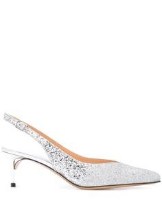 Maison Margiela туфли с ремешком на пятке и блестками