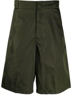Prada wide-legged bermuda shorts