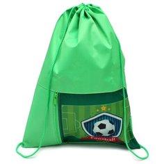Prof-Press мешок для обуви Мяч на поле (МО-2059) зеленый Проф Пресс