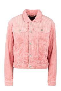 Розовая вельветовая куртка оверсайз Marc Opolo