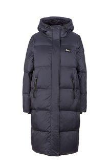 Удлиненная черная куртка Penfield