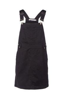 Платье-сарафан из хлопка черного цвета Calvin Klein Jeans