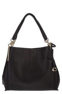 Черная кожаная сумка Dalton Coach