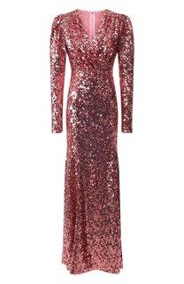 Платье-макси Dolce & Gabbana