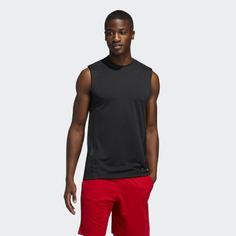 Майка для фитнеса AEROREADY 3-Stripes adidas Performance
