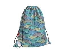 Мешок для обуви ErichKrause® 365x440мм Emerald Wave