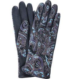 Перчатки женские Eleganzza IS00151 синие
