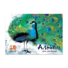 Альбом для рисования на клею ErichKrause® Птицы жарких стран, А4, 20 листов