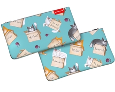 Пенал конверт ErichKrause® 207x114мм Cat&Box