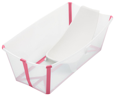 Ванночка Stokke (Стокке) Flexi Bath Transparent Pink 531903