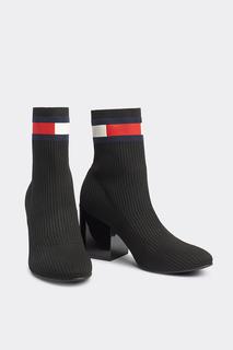 Ботинки женские Tommy Hilfiger черные 38 RU