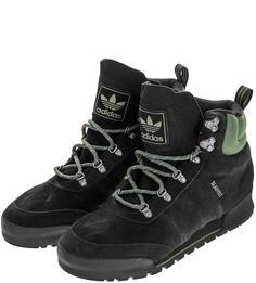 Ботинки мужские adidas Originals B41494 черные/зеленые/серые 44 RU