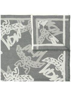 MCM шарф с принтом логотипа