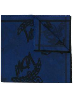 MCM шарф с логотипом