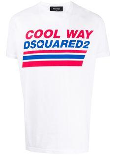 Dsquared2 футболка с принтом Cool Way