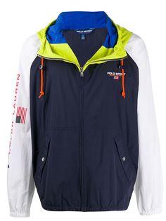 Polo Ralph Lauren спортивная куртка в стиле колор-блок