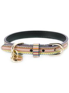 Paul Smith striped pattern collar