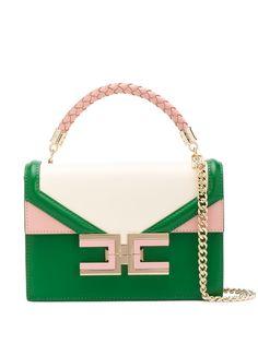 Elisabetta Franchi маленькая сумка-тоут со вставками