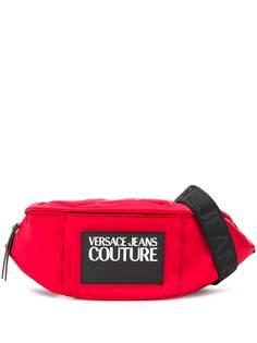 Versace Jeans Couture поясная сумка с логотипом
