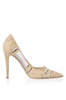 Туфли из кожи и пробкового дерева Becca Too Diane von Furstenberg