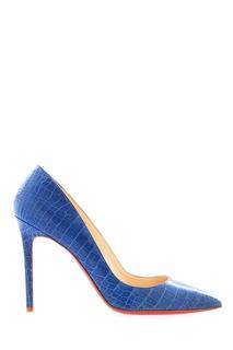 Туфли из кожи крокодила Pigalle 100 Christian Louboutin