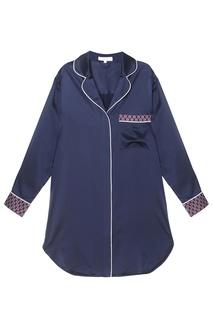 Шелковая ночная сорочка Olivia Von Halle