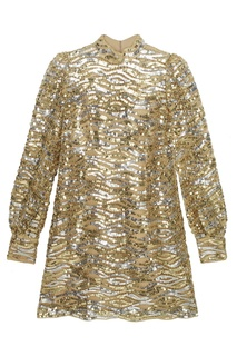 Платье с пайетками The Marc Jacobs