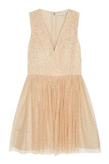Платье с пайетками Alice + Olivia