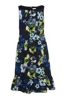 Жаккардовое платье Heta Erdem