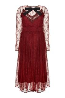 Кружевное платье с перламутром No.21