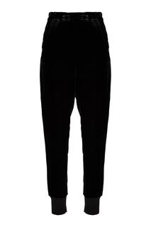 Черные бархатные брюки Ann Demeulemeester