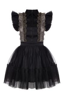Платье с плиссированной отделкой Wandering