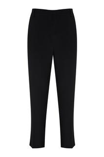 Черные брюки из шелкового микса No.21