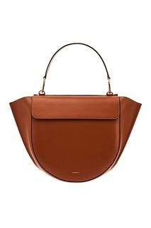 Кожаная сумка Hortensia Big Tan Wandler
