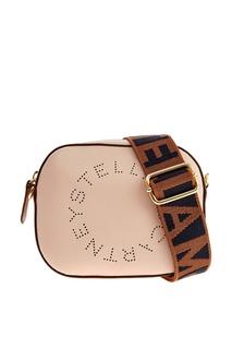 Пудровая поясная сумка Stella Logo