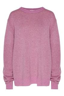 Розовый джемпер из кашемира Acne Studios