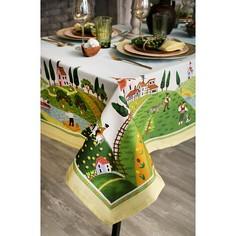 Скатерь с салфетками (180x150 см) Тоскана Этель